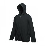 "Толстовка ""Hooded Micro Jacket"", черный_L, 100% п/э, 250 г/м2"