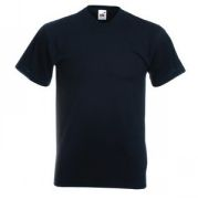 "Футболка ""Valueweight V-Neck T"", черный_2XL, 100% х/б, 165г/м2"